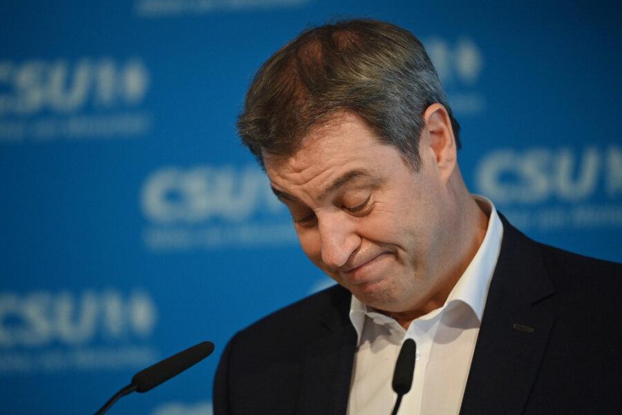 Kanzlerkandidatur: Söder macht den Weg für Laschet frei