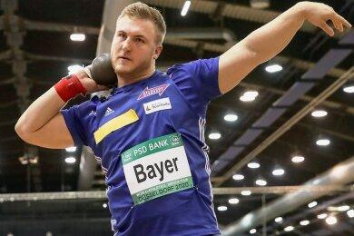 Simon Bayer im vergangenen Jahr Zweiter hinter dem Tschechen Tomas Stanek und damit bester Deutscher, ist wieder mit von der Partie.