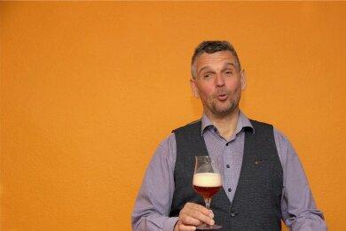 Lebt in Radeberg, arbeitet aber nicht für Radeberger: Jens Zimmermann ist seit 2015 Leiter der Sektion Ost im Verband der deutschen Diplom-Biersommeliers. Am Tag des Bieres lädt der 56-Jährige zu einer Onlineverkostung von sechs ostdeutschen Bieren ein.