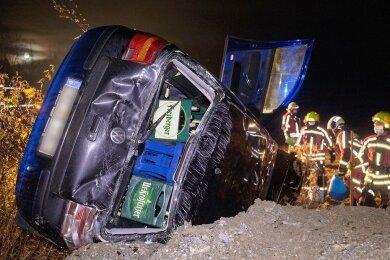 Unfall in Oberscheibe.