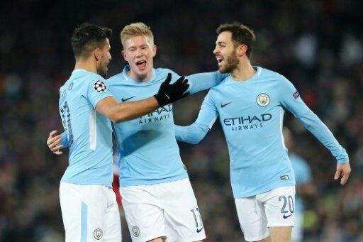 Überlegen gewinnt Manchester City in Basel mit 4:0