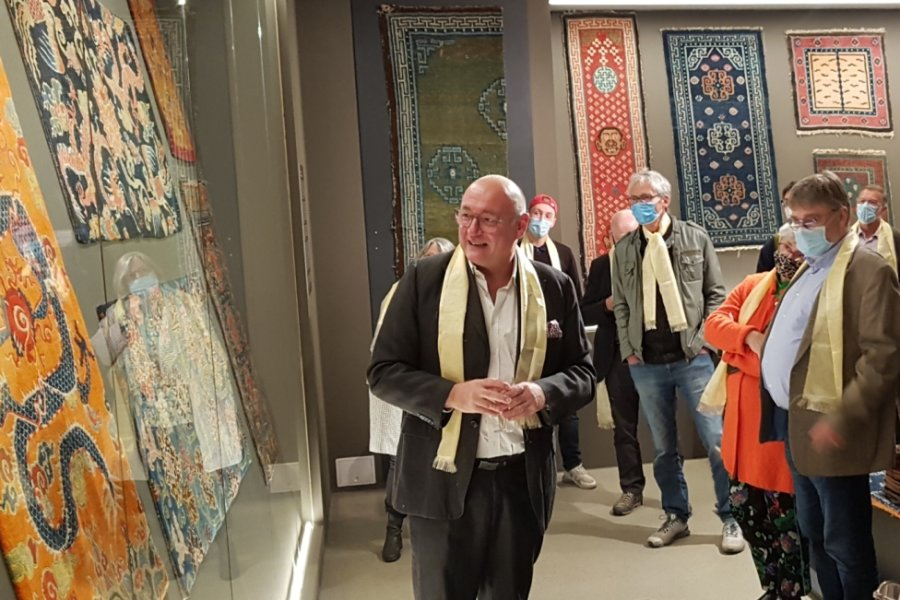 Sonderausstellung zeigt besondere Teppiche aus Tibet