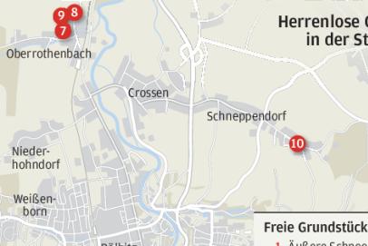 Grundstücke ohne Besitzer werden in Zwickau zum Problem