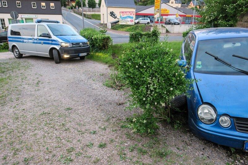 Zwei Verletzte bei Unfall in Schneeberg
