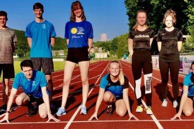 Einige junge Athleten der Region haben im Läuferbund Schwarzenberg ein neues Zuhause gefunden.