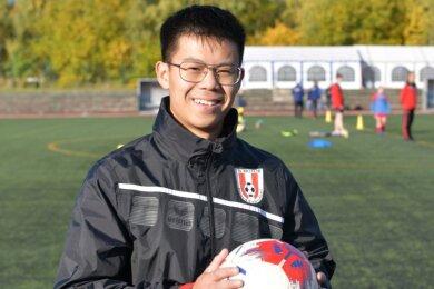 Fußballheld aus Brand-Erbisdorf: Hoang-Nam Ngo ist Jugendleiter des FSV Motor.