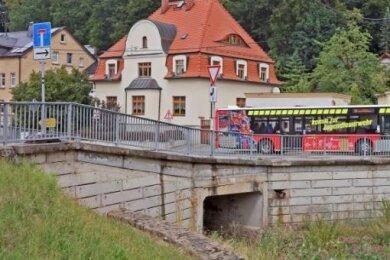 Die Schmutzlerbrücke im Mülsener Ortsteil Ortmannsdorf