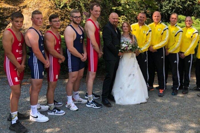 Pausaer Nachwuchstrainerin in den Hafen der Ehe eingelaufen