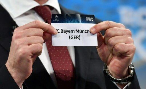 Die Bayern sind als Meister in Topf eins gesetzt