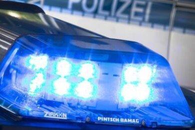 Lärm, Pyrotechnik, rechte Parolen und Handgreiflichkeiten: Eine Gruppe junger Männer in Rossau hat in der Nacht zum Mittwoch die Polizei in Atem gehalten.