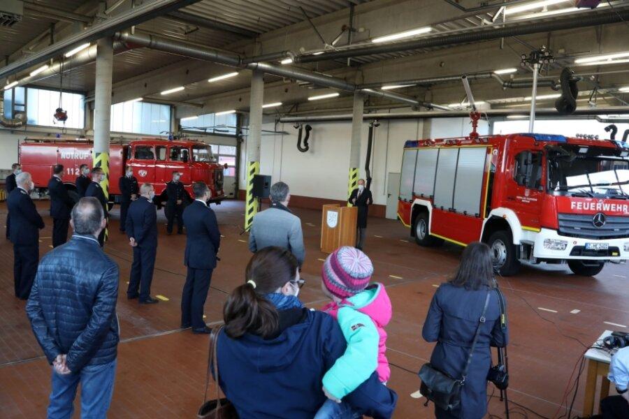 Neuer Wagen für Feuerwehr