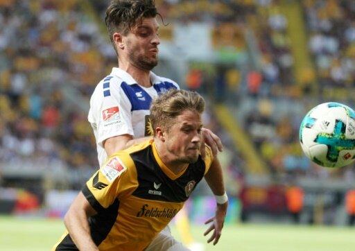 Dynamo Dresden muss auf Patrick Möschl (v.) verzichten