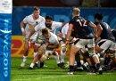Die deutsche Rugby-Mannschaft besiegt Hong Kong mit 26:9