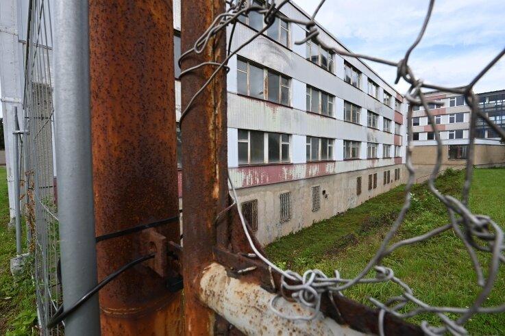 Die zu DDR-Zeiten errichteten Gebäude an der Anton-Günther-Straße in Reichenbrand gehörten einst zur Bergbaugesellschaft Wismut.