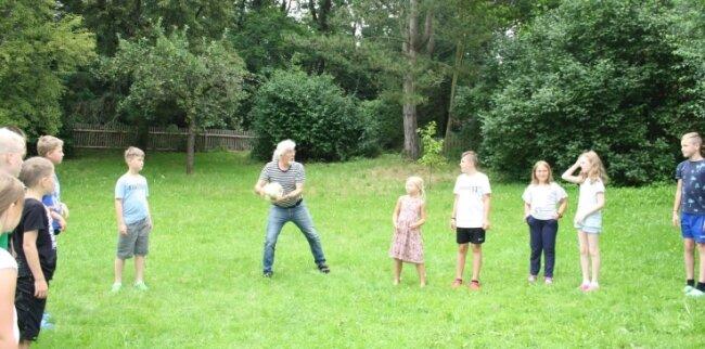 Am Rüstzeitheim Lauenhain ist ausreichend Platz für die zumeist jungenGäste vorhanden.