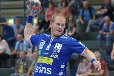 Aues Bengt Bornhorn hat im Testspiel gegen Dessau eine tragende Rolle gespielt. Ihm gelangen acht Tore.