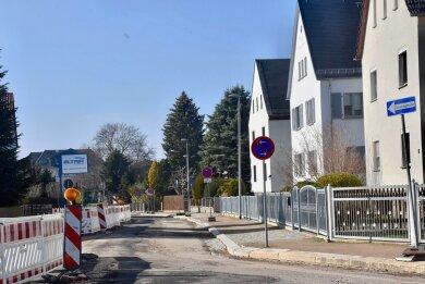 Die komplexen Baumaßnahmen auf der Goethestraße werden nach der Winterpause fortgesetzt. Bis Ende Mai sollen sie zwischen Karlstraße und Friedrichstraße abgeschlossen sein.