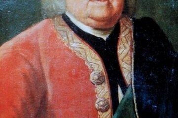 Diese drei Gemälde wurden vor 30 Jahren gestohlen. Sie zeigen Johann Löbel (links), den erste Bürgermeister von Johanngeorgenstadt, den Hammerherren Johann Georg Gottschald und seine Frau Maria Regina.