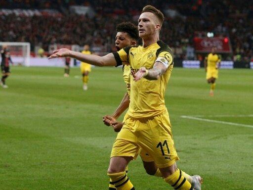 Borussia Dortmund feiert Auswärtssieg in Leverkusen