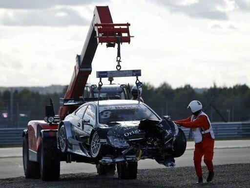 Zwei schwere Unfälle ereigneten sich beim Bathurst 1000