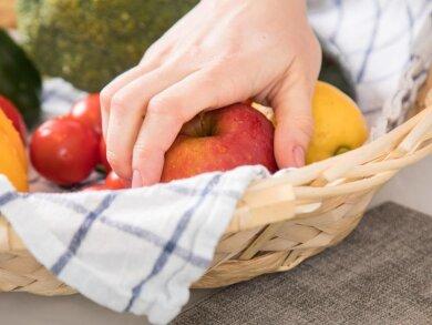 Gerne zugreifen: Ein Apfel ist ein guter Obstsnack für Diabetiker.