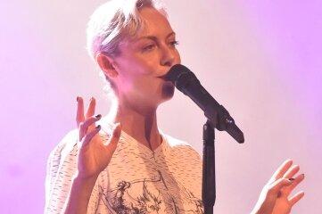 Sängerin Severija Janušauskaitê am Sonntag im König-Albert-Theater.