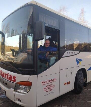 Jan Bittner fährt für das Busunternehmen Zacharias. Der Tscheche übernachtet jetzt in Neuhausen.
