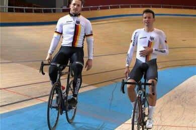 Der mehrfache Deutsche Meister Marc Jurczyk (links) kämpft um ein Ticket für Olympia.