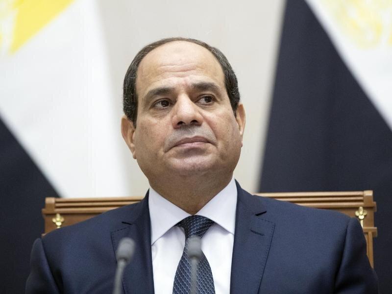 Abdel Fattah al-Sisi, Präsident von Ägypten.