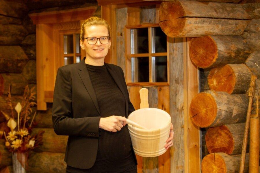 Mit dem Geruch von Holz ist Nicole Erdmann aufgewachsen.