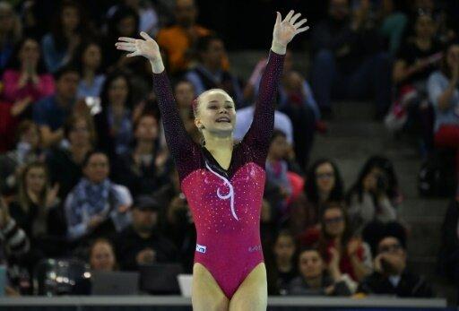 Angelina Melnikowa gewann mit dem russischen Team Gold