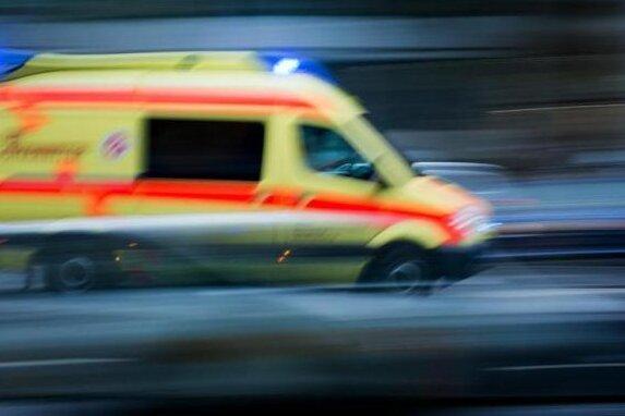 Schwerer Unfall auf A4 bei Hainichen