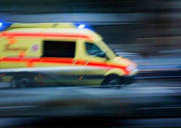 Großweitzschen: Unfall mit vier Schwerverletzten