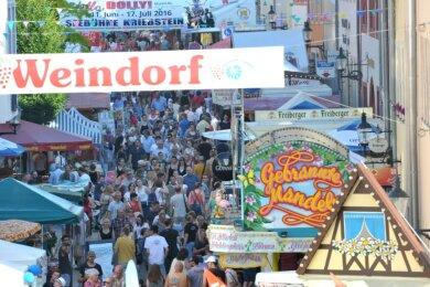 Das Bergstadtfest wird dieses Jahr für 3. bis 6. September vorbereitet.