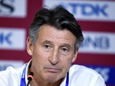 Sebastian Coe, Präsident des Leichtathletik-Weltverbands World Athletics.