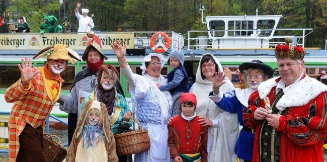Wegen Corona werden auch in diesem Jahr die Märchenfiguren nicht der Talsperre Kriebstein zu erleben sein.