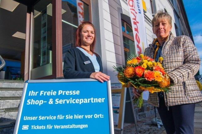 """""""Freie Presse"""" bietet Service in neuem Shop in Stollberg"""