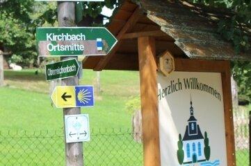In Kirchbach ist eine Mittagspause eingeplant.
