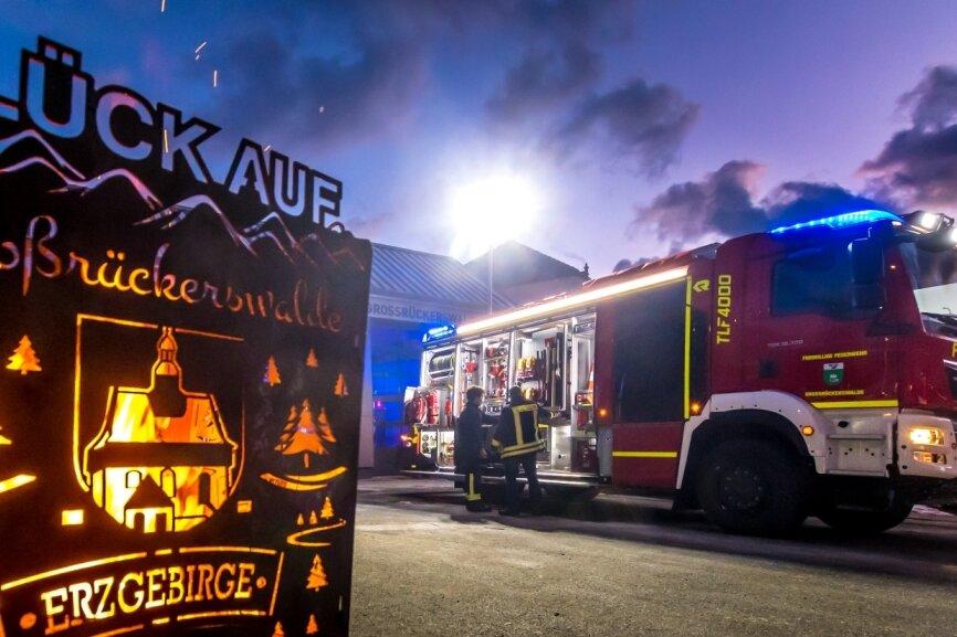Neues Feuerwehrauto in Großrückerswalde angekommen