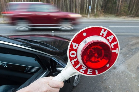 Vogtland: Mutmaßlicher Einbrecher nach rasanter Verfolgungsjagd gefasst