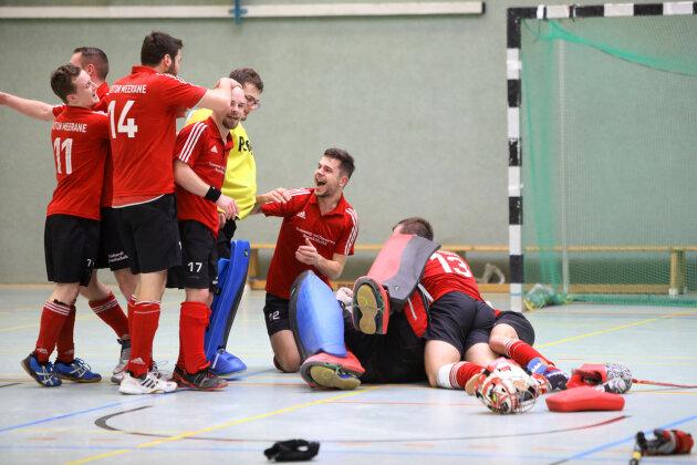 Hockey-Herren feiern Klassenerhalt in der 2. Bundesliga
