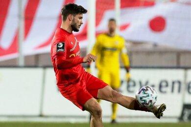 Linksfuß Marco Schikora steht dem FSV Zwickau wieder zur Verfügung.
