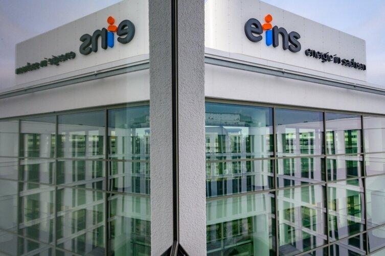 Die Fassade des neuen Firmensitzes der Eins: Wie bereit für die Klimakrise ist das Haus?