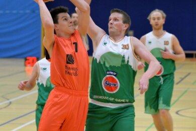 Großes Talent: Jakub Klobusiak (l.), der schon mit 14 Jahren bei den ATSV-Männern debütierte, wechselt zu den Niners Chemnitz.