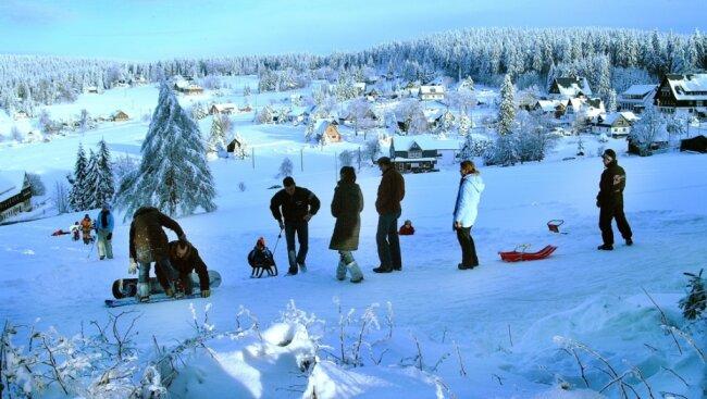 So malerisch hatte sich Mühlleithen 2005 am letzten Novemberwochenende präsentiert.