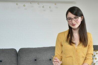Marlene Breymann ist nach 30 Jahren die erste Auszubildende in der Stadtverwaltung Bad Elster.