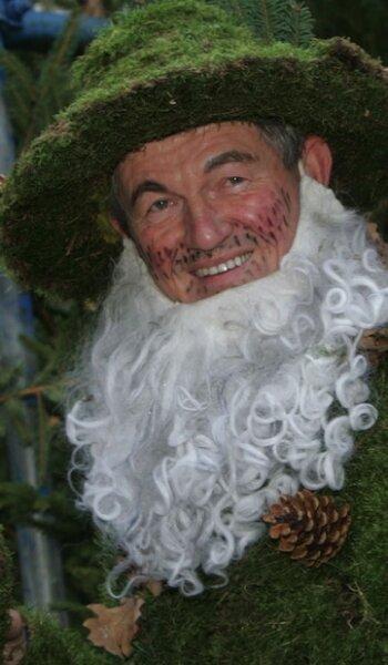Was für ein Bart: Arnhelm Trillitzsch gewann den Kostüm-Wettbewerb.