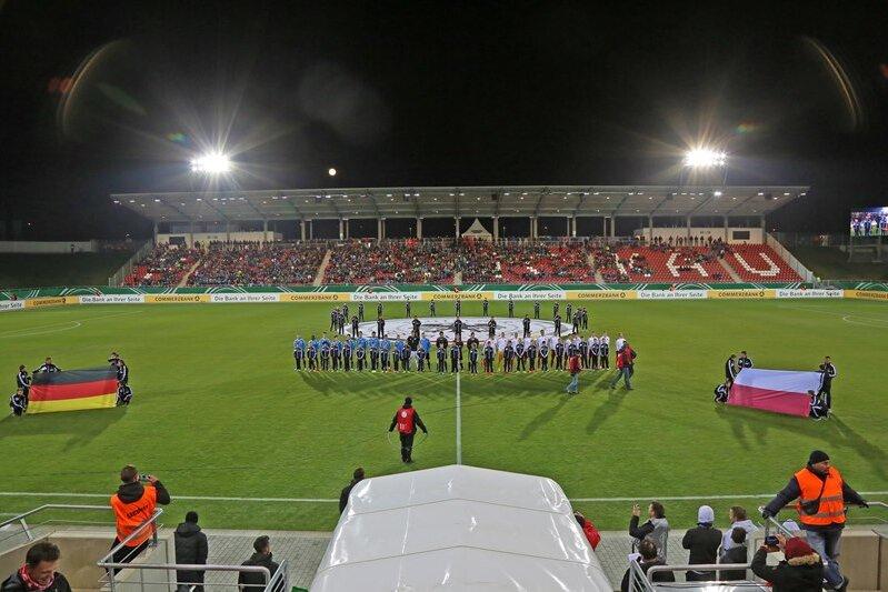 3477 Zuschauer sahen das U-20-Länderspiel in Zwickau.