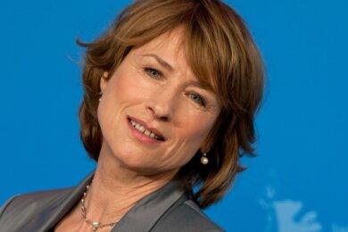 Bekanntes Gesicht: Corinna Harfouch auf einer Berlinale in Berlin. Begonnen hat die Schauspielerin ihre Karriere in Karl-Marx-Stadt.