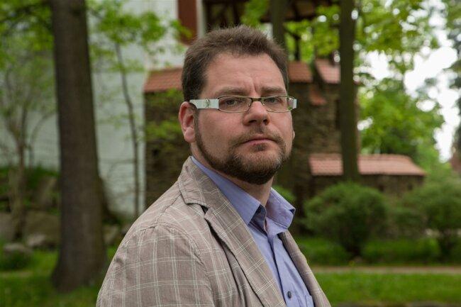 Conny Goeckeritz gewinnt als Grüner die Bürgermeisterwahl in Schlettau.